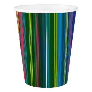 HAMbyWG - Paper Cup - Brite Multi-Color Stripe