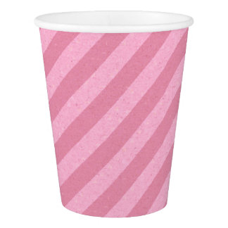 HAMbyWG - Paper Cup -  Light Pink Stripe