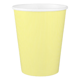 HAMbyWG - Paper Cup - Yellow Gingham w Logo