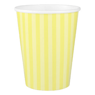 HAMbyWG - Paper Cup - Yellow Stripes w Logo