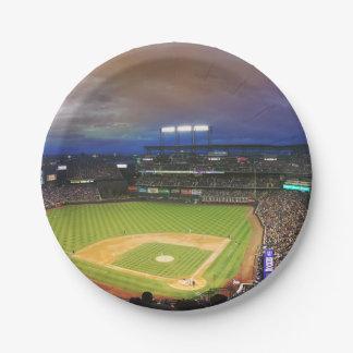 HAMbyWG - Paper Plate - Baseball Stadium