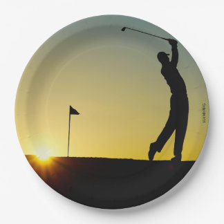HAMbyWG - Paper Plates - Golfer