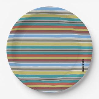 HAMbyWG - Paper Plates - Surf Stripe