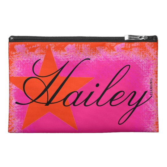 HAMbyWG - Personalised Bags - Star on Pink