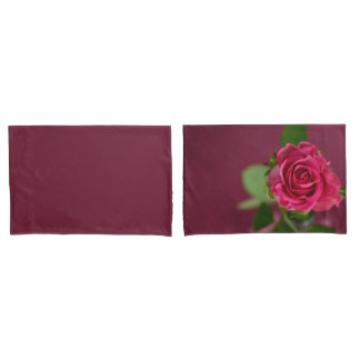 HAMbyWG -Pillowcases -Cherry Plum Rose Pillowcase