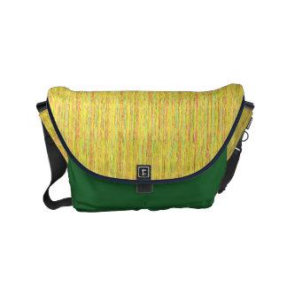 HAMbyWG - Rickshaw Messenger Bag - Yel/GRN Crayola