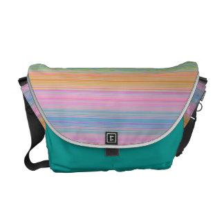HAMbyWG Rickshaw Messenger - Bright Multicolor Messenger Bag