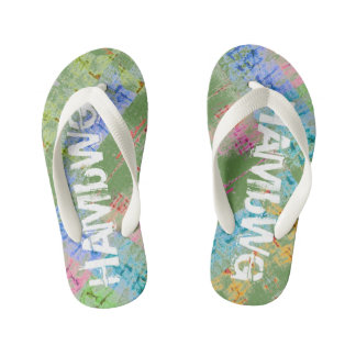 HAMbyWG Slim Straps Flip-Flops Multi-Colour Kid's Flip Flops