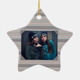 HAMbyWG  Star Ornament -  Photo Ornament