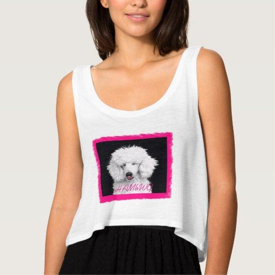 HAMbyWG - T-Shirts - White Poodle Bella