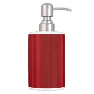 HAMbyWG - TB Holder n Soap Dispenser - Red Rose