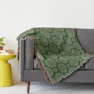 HAMbyWG - Throw Blanket - Green Mandalas
