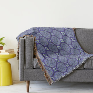 HAMbyWG - Throw Blanket - Violet Mandalas