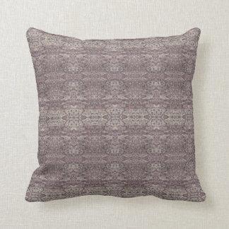 "HAMbyWG - Throw Pillow 16"" - Mauve Persian Coord"