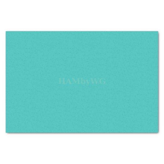 HAMbyWG - Tissue Paper - Aqua