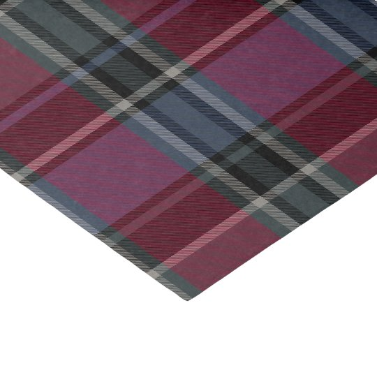 HAMbyWG - Tissue Paper - Maroon Plaid