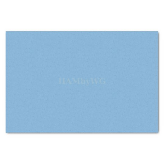 HAMbyWG - Tissue Paper - Medium Sky Blue