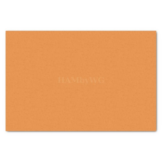HAMbyWG - Tissue Paper - Orange