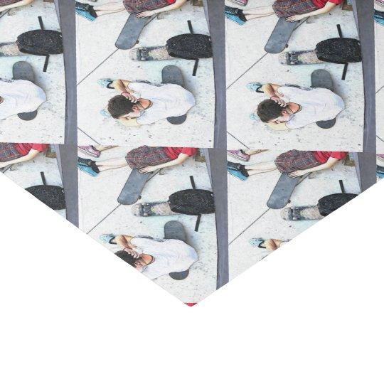HAMbyWG - Tissue Paper -  Skateboarder at Rest