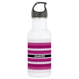 HAMbyWG - Water Bottle - Pink & White
