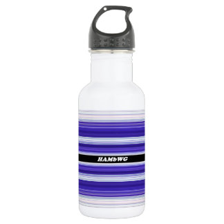 HAMbyWG - Water Bottle - Purple & White