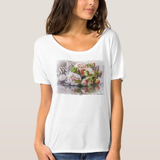 HAMbyWG - Women's T-Shirt - Watercolor Peonies