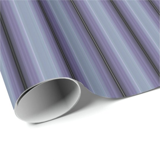 HAMbyWG - Wrapping Paper -Lavender Gradient Stripe