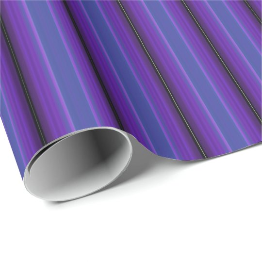 HAMbyWG - Wrapping Paper - Purple & Blue Stripe