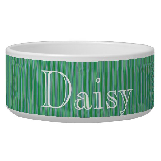 HAMbyWhiteGlove - Dog food Bowl - Fine Spearmint