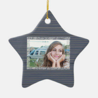 HAMbyWhiteGlove - Keepsake Photo Ornament