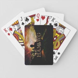 HAMbyWhiteGlove - Playing Cards - HAMbWG