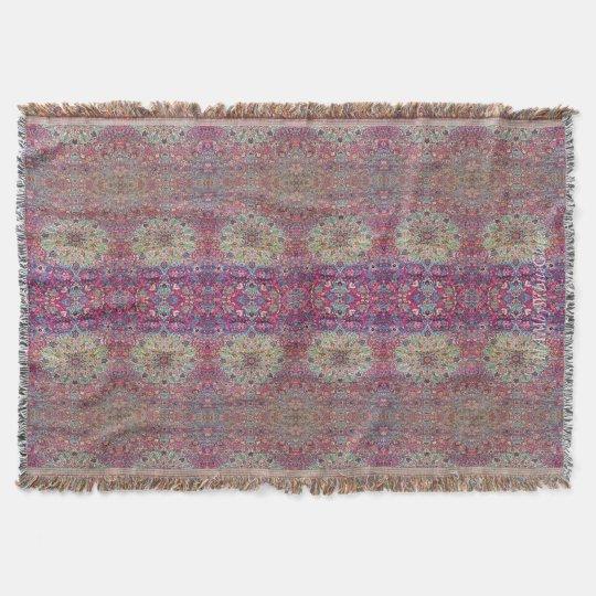 HAMbyWhiteGlove - Throw Blanket - Pink Persian