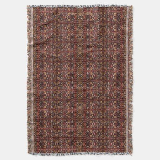 HAMbyWhiteGlove - Throw Blanket - Rusts & Browns