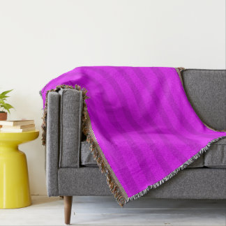 HAMbyWhiteGlove - Throw Blanket - Violet/Violet