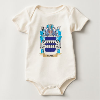 Hamel Coat of Arms - Family Crest Baby Creeper