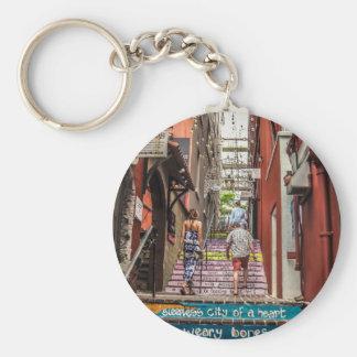 Hamilton Alley Key Ring