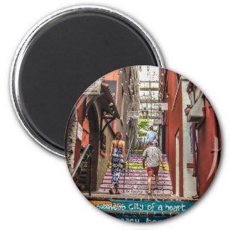 Hamilton Alley Magnet