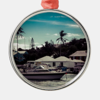 Hamilton Boat Christmas Ornament