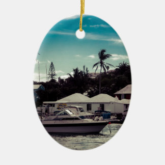 Hamilton Boat Christmas Ornament