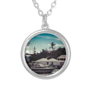Hamilton Boat Silver Plated Necklace