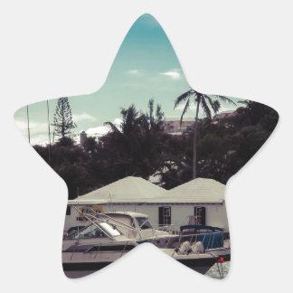 Hamilton Boat Star Sticker