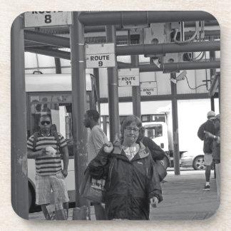 Hamilton Bus Station 02 Beverage Coaster