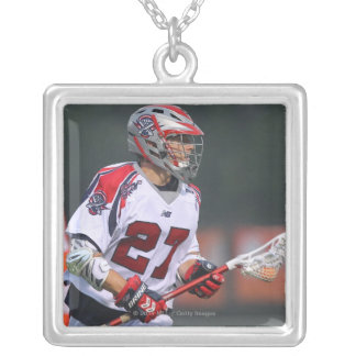 HAMILTON, CANADA - AUGUST 06: Kevin Buchanan #27 Silver Plated Necklace