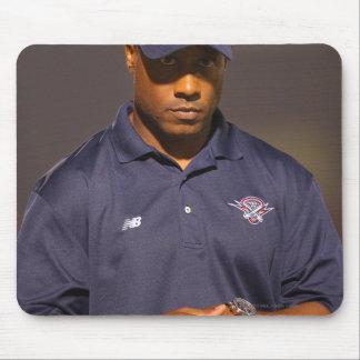 HAMILTON, CANADA - AUGUST 6: Head coach Bill Mousepads