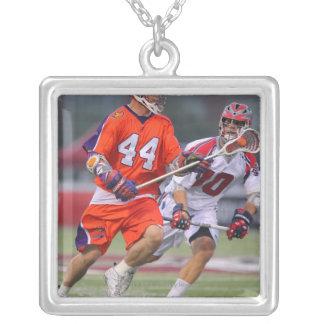 HAMILTON, CANADA - AUGUST 6: Jordan Hall #44 Silver Plated Necklace
