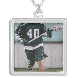 HAMILTON,CANADA - JULY1:  Matt Danowski #40 3 Silver Plated Necklace