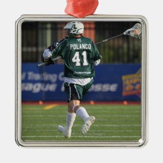 HAMILTON,CANADA - JULY1:  Nicky Polanco #41 Silver-Colored Square Decoration