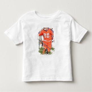 HAMILTON,CANADA - JULY 16:  Donny Moss #80 2 T-shirt