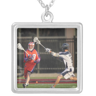 HAMILTON, CANADA - JULY 16:  Justin Smith #2 Silver Plated Necklace