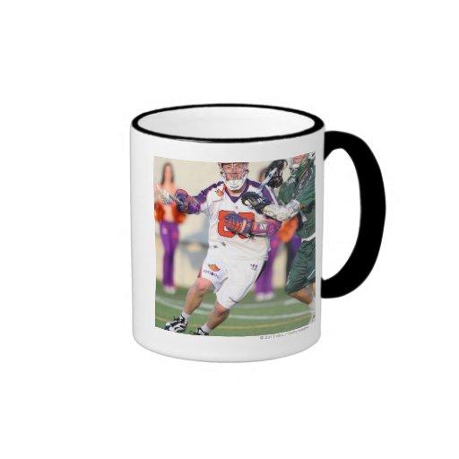 HAMILTON, CANADA - JULY 1:  Donny Moss #80 Coffee Mugs
